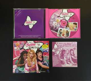Limited Edition Barbie Diaries VCD