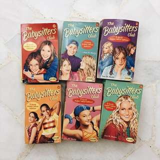 Set of 6 Babysitters Club Book