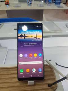 Samsung Galaxy Note 8 Dijual Credit