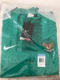 Jaket official timnas Green
