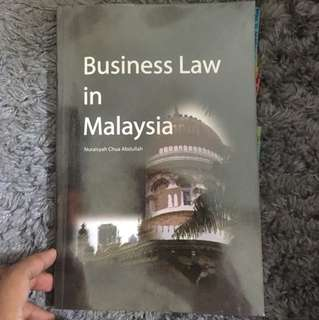 Business Law in Malaysia