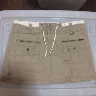 Preloved Khaki Skirt