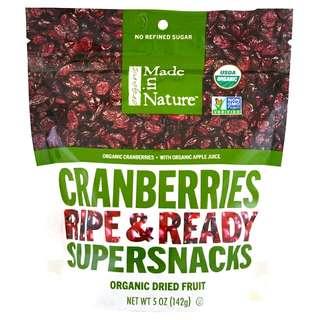 Made in Nature 有機蔓越莓零食 美國直送