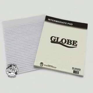 Globe Brand Intermediate Pad 80 Leaves