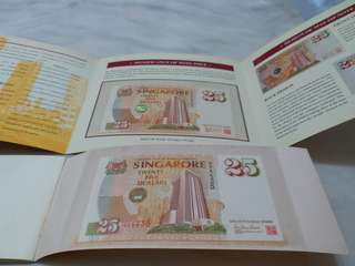 MAS 25th Anniversary $25 Singapore Dollar Note