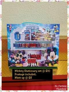Mickey Stationery Set