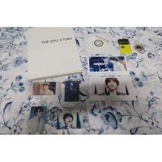 [FANSITE GOODS] JustGyuhyun Photobook + DVD - The Gyu Story (Super Junior Kyuhyun)