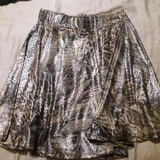 Slater skirt - glossy/animal print