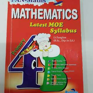 Primary 4 maths assessment book