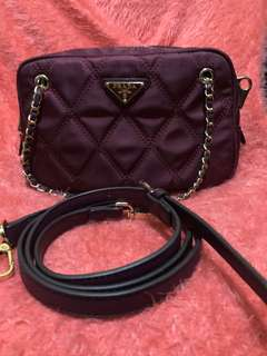 Prada 2 way sling bag (Replica only)