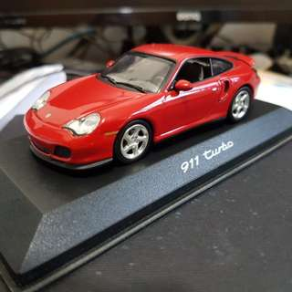 Minichamps 911 Turbo Red