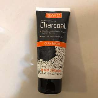 Beauty Formulas Activated Charcoal Clay Mask