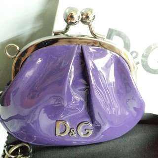 D&G DOLCE & GABBANA Coin Purse