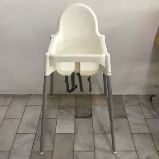Ikea Baby Chair with tray