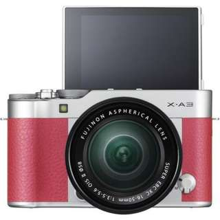 Fujifilm X-A3 Kit XC16-50mm f3.5-5.6 OIS II (Pink) + Instax Mini 8