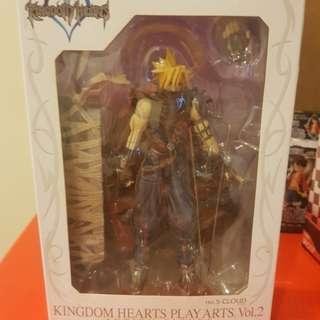 Kingdom Hearts Play Arts Cloud -Kingdom Hearts Version- (PVC Figure)