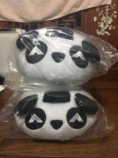 熊貓 抱枕