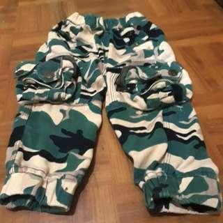 Celana Jogger Army Anak Laki Cargo
