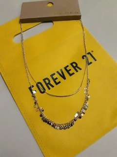 Authentic f21 layered necklace