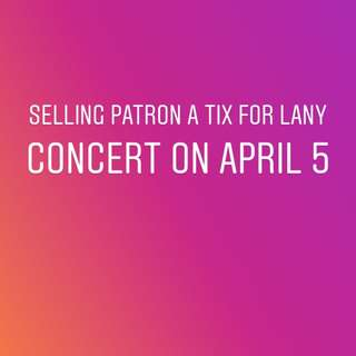 Lany Concert Day1