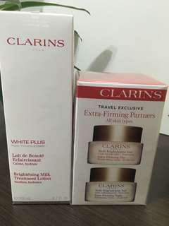 Clarins Cream and Lotion