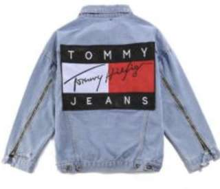 Tommy jacket!!