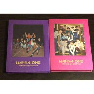 ON HAND SEALED ALBUM WANNA ONE  NOTHING WITHOUT YOU WITH POSTER