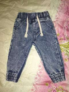 Jogger Pants (6-12 months) LIKE NEW