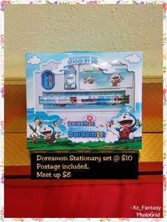 Doreamon Stationary set