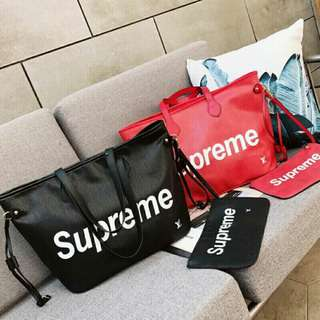 SALE! LV SUPREME 2in1 Bag [REPLICA]