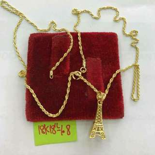 18k Saudi Gold Necklace #Investment #Pawnable #legitseller