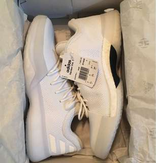 Adidas harden v1 yacht club triple white