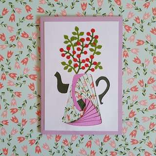 Handcrafted Mother's Day Card