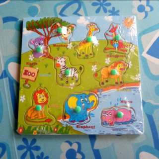RESTOCK (BNEW) Animal Wooden Puzzle