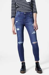 Topshop Moto Ripped Jeans