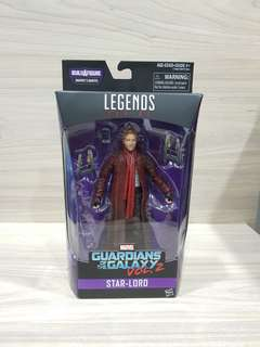 Marvel Legends Star Lord GOTG Vol. 2 MIB no BAF