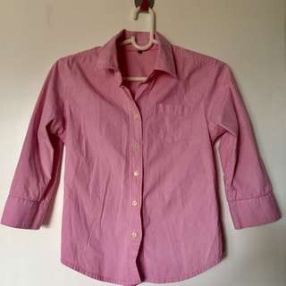 Casual/Semi-formal Women's Polo (Light Pink)