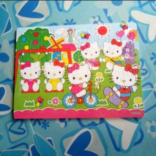 RESTOCK (BNEW) Hello Kitty Wooden Puzzle
