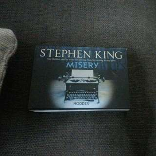 "Stephen King Book, ""Misery"""