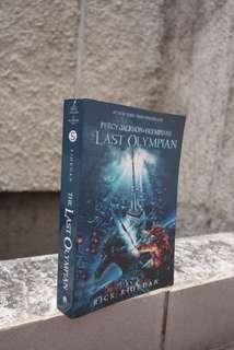 Percy Jackson & The Olympians : The Last Olympian by Rick Riordan