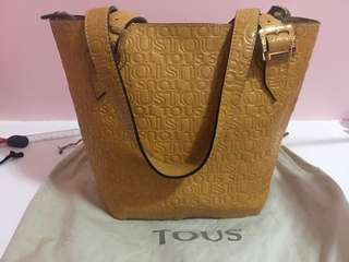 AUTHENTIC TOUS SATCHEL SHOULDER HAND BAG