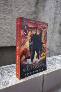 Percy Jackson & The Olympians : The Sea of Monsters by Rick Riordan