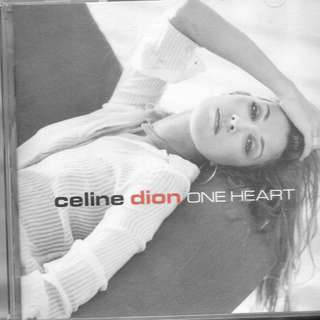 MYPRELOVED CD - CELINE DION - ONE HEART / FREE DELIVERY (F9Q)