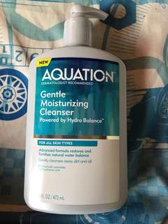 Aquation face and body cleanser (better than Cetaphil)