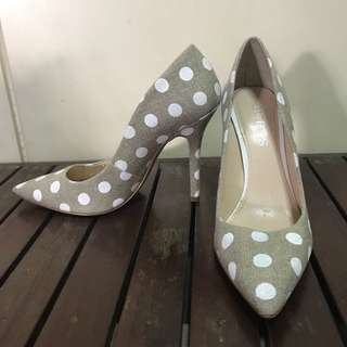 Guess High Heels with polka dots