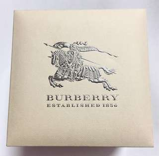 Burberry Box Casing for Watch