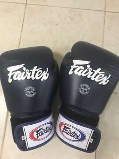Brand new Fairtex boxing gloves