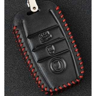 KIA Type E Car Key Leather Pouch