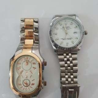 Philipstein and Rolex watch