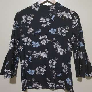 Floral Bell Top